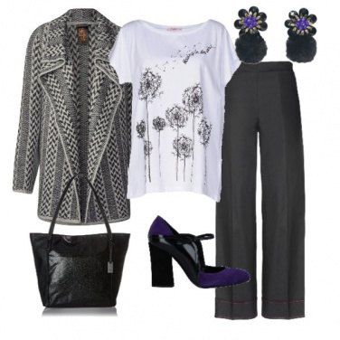 Outfit Il cardigan-giacca