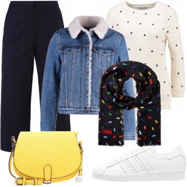 Outfit Comoda e colorata
