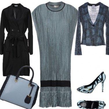 Outfit Il vestito a V global