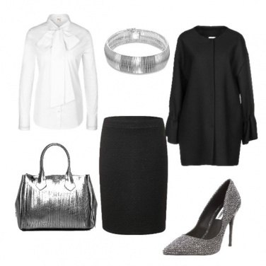 Outfit Silver Christmas