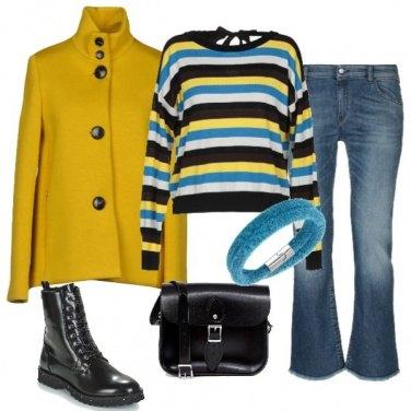 Outfit Praticità e colore