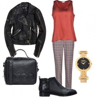 Outfit Orangeandblack