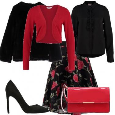 Outfit Fioriscono le rose