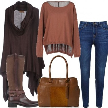 Outfit Basic con stivale