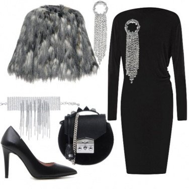 Outfit Borsa rotonda