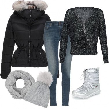 Outfit Natale sulla neve