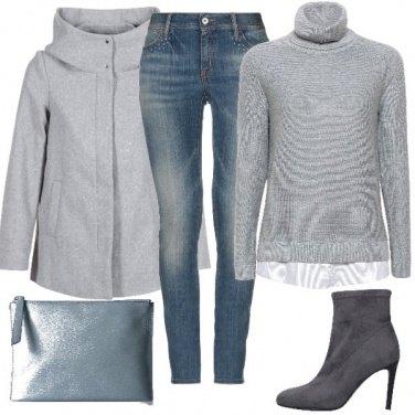 Outfit Sfumature leggere di grigio