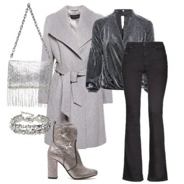 Outfit Silver winter