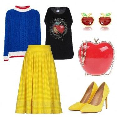 Outfit Ispirazioni Disney Biancaneve