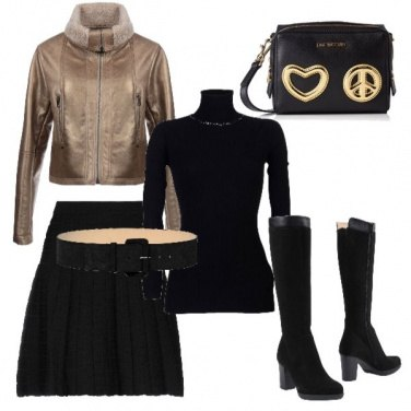Outfit Blackgold