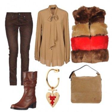 Outfit Un po\' di rosso