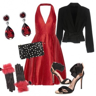 Outfit San Silvestro in stile Marilyn