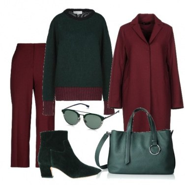 Outfit Bordeaux o verde???