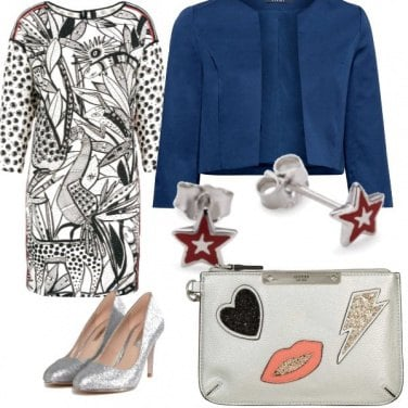 Outfit Stelle e strass