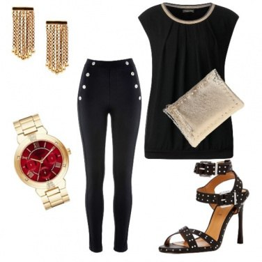 Outfit Fashion in oro...