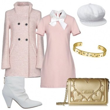 Outfit Oro rosa!