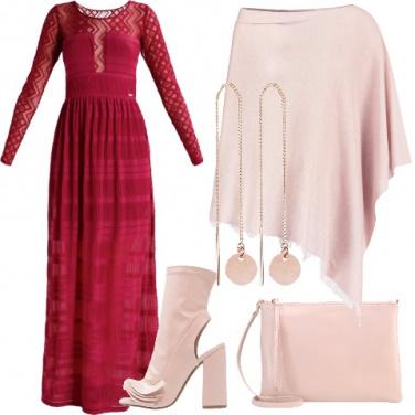Outfit Abito lungo per San Valentino