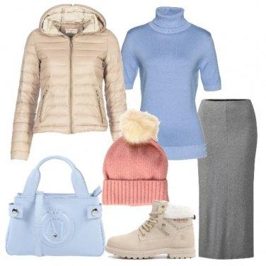 Outfit Pastelli e neutri