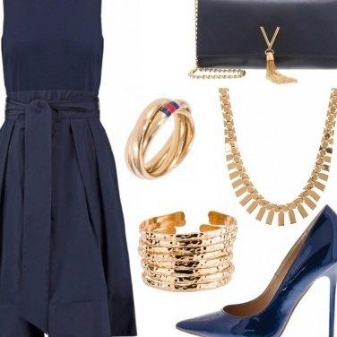 Outfit Blu elegance