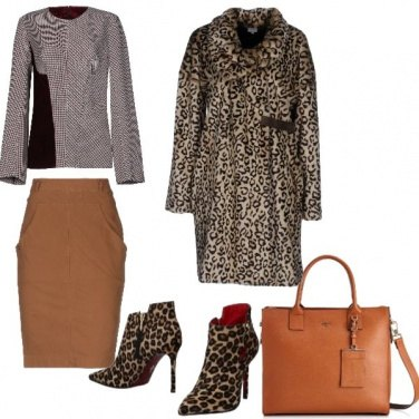 Outfit Trendy, animalier