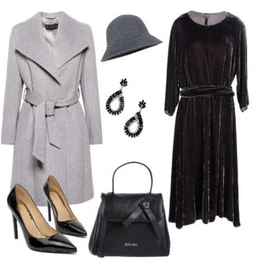 Outfit Natale in velluto