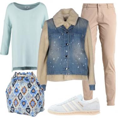 Outfit Colori pastello per il tempo libero