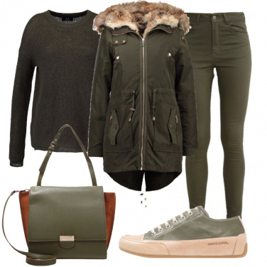 Outfit Oliva all\'aperitivo