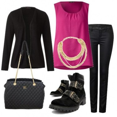Outfit Rock glam..