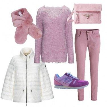 Outfit Esco a fare la spesa