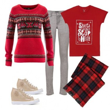 Outfit Casual Christmas