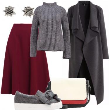 Outfit Una scarpa diversa