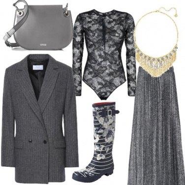 Outfit 6 sfumature di grigio