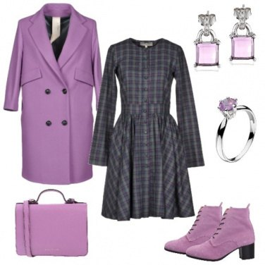 Outfit Un mondo color glicine