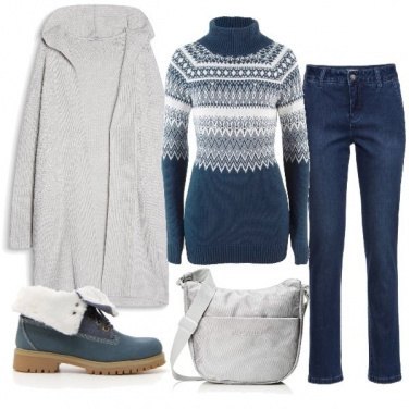 Outfit Il maglioncino norvegese