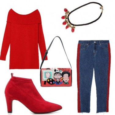 Outfit Natale in jeans