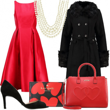 Outfit San Valentino bon ton