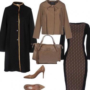 Outfit Il cappotto dritto in lana