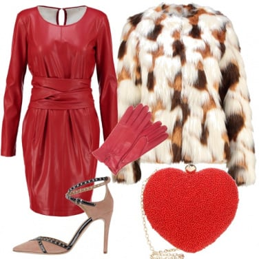 Outfit Sensuale in rosso