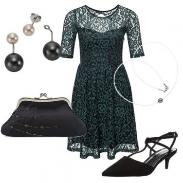 Outfit Green Christmas