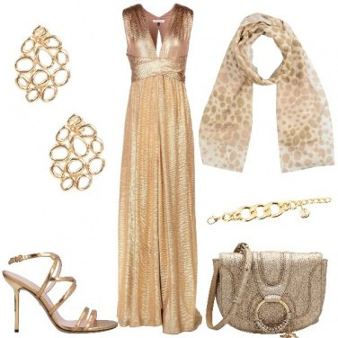 Outfit Gold a Capodanno