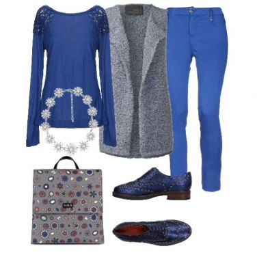 Outfit Blu Christmas