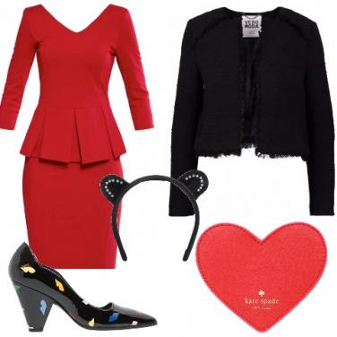 Outfit San Valentino con brio