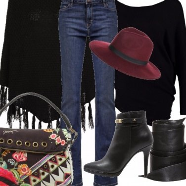Outfit Woodstock d\'autunno