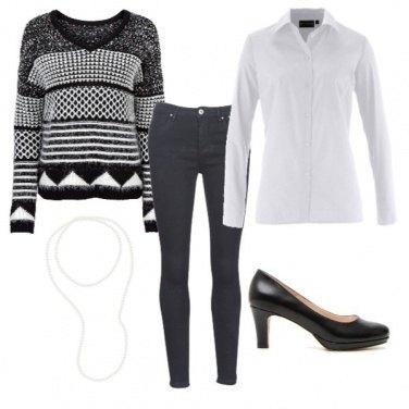 Outfit Elegante e sobria