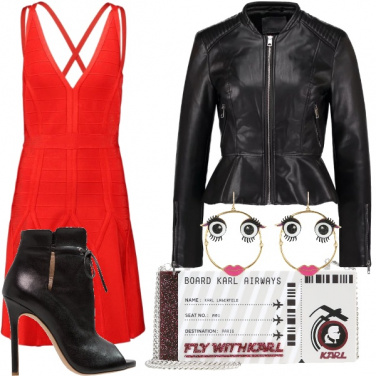 Outfit San Valentino in discoteca