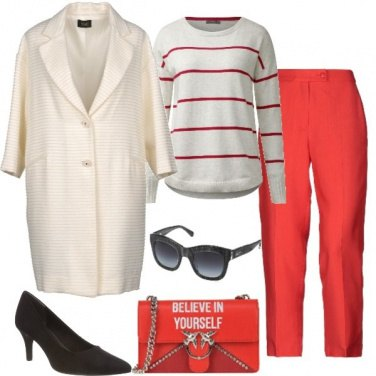 Outfit Victoria Beckham style
