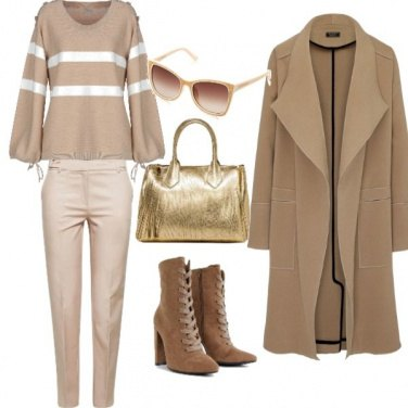 Outfit Golden touch