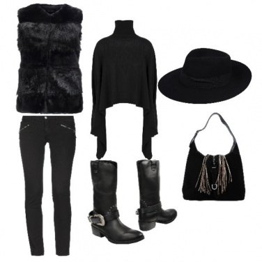 Outfit An urban cow girl