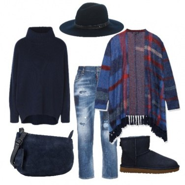 Outfit Blu invernale