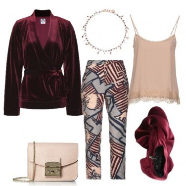 Outfit Estrosa in velluto
